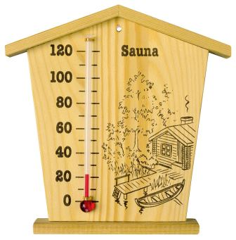 Капиллярный термометр для бани