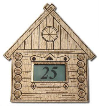 Цифровой термометр для бани