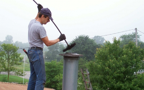 Самостоятельная чистка дымохода фундамент под керамический дымоход