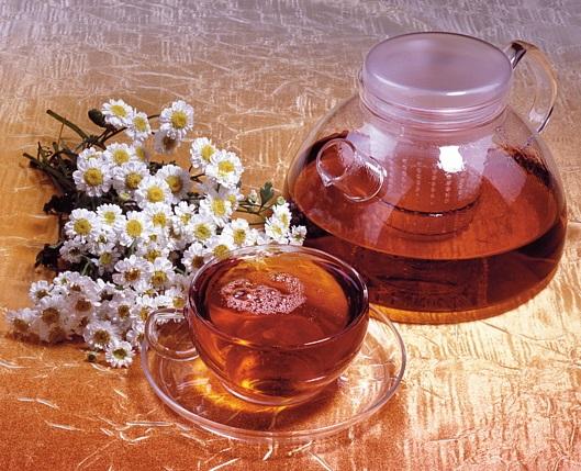 Травяной чай в баню