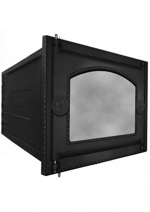 Духовка чугунная, со стеклом, ДП-ДТ-6АС