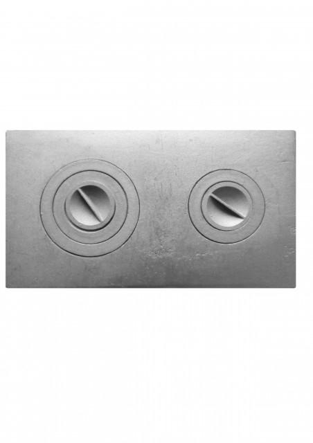 Плита с двумя конфорками, П2-3
