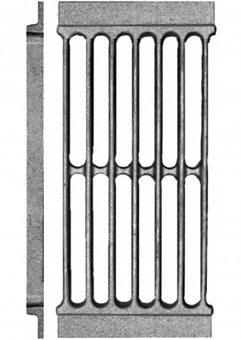 Решетка колосниковая каминная РД-7