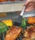 Кисть кулинарная силиконовая  (нержавеющая сталь), картинка 2